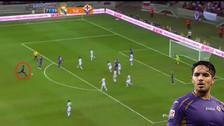 El día que Juan Manuel Vargas casi anota un golazo ante Real Madrid