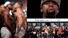 Mayweather vs. McGregor: las 10 mejores fotos de la ceremonia del pesaje