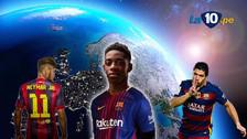 Ousmane Dembélé lidera los 5 fichajes más caros en la historia de Barcelona