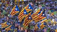 Miles de personas marcharon en Barcelona contra el terrorismo