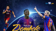 El posible once de Barcelona con el fichaje de Ousmane Dembélé