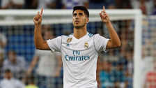 Asensio anotó un golazo de tiro libre para evitar la derrota del Real Madrid