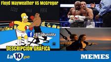 McGregor es víctima de memes tras perder contra Mayweather