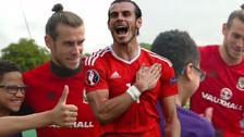 La emocionante reacción de un niño hincha al conocer a Gareth Bale