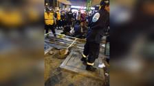 San Borja: Vehículo impactó contra baranda de estación del tren eléctrico