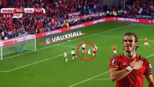 YouTube | Gareth Bale casi anota golazo de 'chalaca' ante Austria