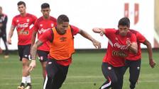 Cueva y Rodríguez no entrenaron con el plantel de la Selección