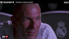 Las lágrimas de Zidane al ver un video de su padre hablando de él como jugador