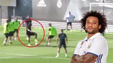 YouTube | El golazo de Marcelo durante en el entrenamiento de Real Madrid