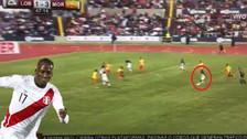 Luis Advíncula anotó un golazo de zurda desde fuera del área