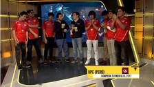 Un equipo peruano ganó el torneo universitario de League of Legends