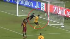 Saúl falló el gol cantado en el minuto final ante la Roma