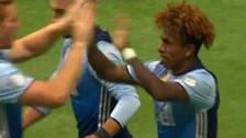 Se metió entre dos y definió con clase: el golazo de Yordy Reyna en la MLS