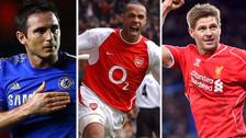 El mejor once de la historia de la Premier League