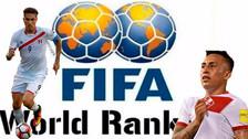 Selección Peruana alcanzó el histórico puesto 12 en el ranking FIFA