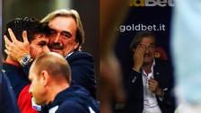 Anotó un doblete con 16 años en la Serie A y su padre no pudo evitar el llanto