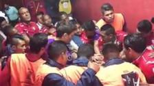 La polémica arenga de Jorge Wilstermann previo al partido contra River Plate