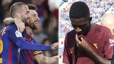 Plantel del Barcelona dedicó emotivo mensaje a Ousmane Dembélé