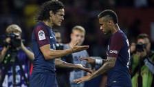 Neymar y Cavani no se dan pases durante los partidos del PSG