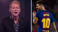 Martin Liberman criticó a Messi por sus cuatro goles con Barcelona