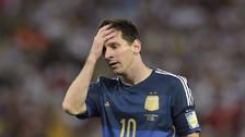Periodista argentino criticó a Lionel Messi: