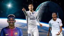 Asensio es el mejor futbolista Sub 21 por delante de Mbappé y Dembélé