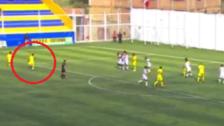 Video | Delantero de Comerciantes anotó golazo de tiro libre ante Cantolao