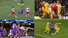 Mira los 10 goles del Premio Puskas: acrobacias, tacos y tiros lejanos