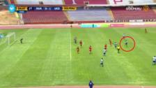 YouTube | Volante de Unión Comercio anotó un golazo de media distancia