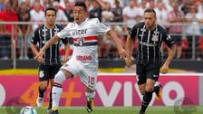 Christian Cueva se lució con una asistencia en el empate de Sao Paulo