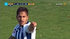 Alejandro Hohberg anotó un golazo con un disparo colocado desde fuera del área