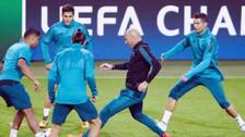 La magia de Zinedine Zidane en los entrenamientos del Real Madrid