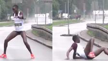 YouTube | El infartante colapso de una atleta a 800 metros de la meta
