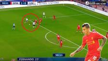 YouTube | La gran definición de Coutinho en el Liverpool-Spartak Moscú