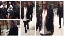 Neymar y Dani Alves hicieron de las suyas en la Semana de la Moda de París