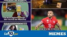 Sergio Agüero en la mira de los memes tras accidente de tránsito