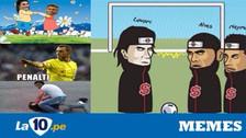 Los memes que dejó la reconciliación entre Neymar y Cavani en PSG