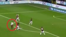YouTube | Edin Dzeko anotó un golazo desde fuera del área ante Milan