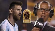 YouTube | Peredo se encomendó al Señor de los Milagros en tiro libre de Messi