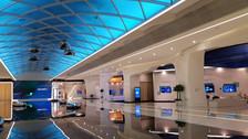 Así es el centro de exhibición tecnológico de Huawei en China