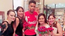 Pedro Gallese imitó una cábala de Gareca previo al duelo con Colombia