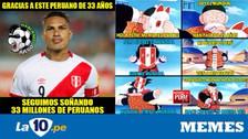 Perú es protagonista de memes tras clasificar al repechaje