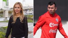 Medel le respondió a esposa de Bravo por polémica en la Selección de Chile