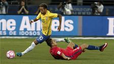 YouTube | Neymar enloqueció a jugadores de Chile con estas jugadas