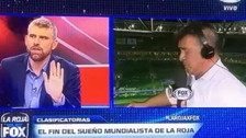 En pleno programa: Borghi se peleó con periodista de Fox Sports y abandonó cabina