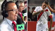 El emocionante relato de Daniel Peredo en los minutos finales ante Colombia
