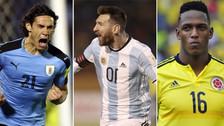 Eliminatorias Rusia 2018: el XI ideal que dejaron las 18 fechas