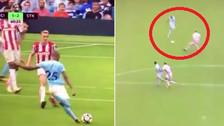 El golazo de Fernandinho al ángulo en el triunfo de Manchester City