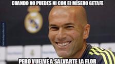 Los memes que generó el triunfo agónico del Real Madrid ante Getafe
