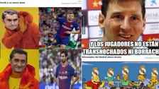 Mira los memes del empate entre Barcelona y Atlético de Madrid